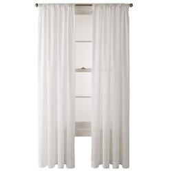 JCPenney  - Home Ascension Rod-Pocket Cotton Sheer Panel