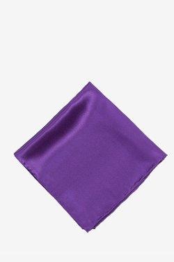 "Ties - Royal Purple 16"" Pocket Square"
