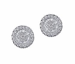 Effy  - Diamond White Gold Stud Earrings