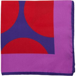 Duchamp  - Oversize Dot Print Pocket Square