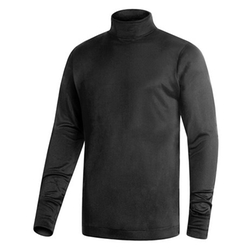 Terramar  - Silk Interlock Turtleneck Sweater