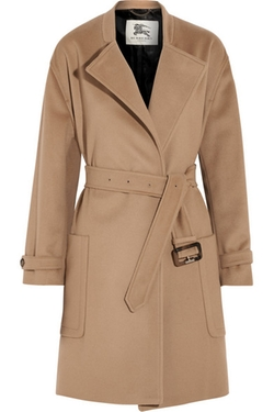Burberry London  - Wool and Cashmere-Blend Coat