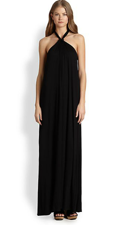 Ella Moss  - Tali Stretch Jersey Halter Maxi Dress