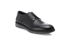 Z Zegna - Leather Lace-up Dress Shoes