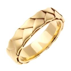Beverly Diamonds - Yellow Gold Wedding Band Ring
