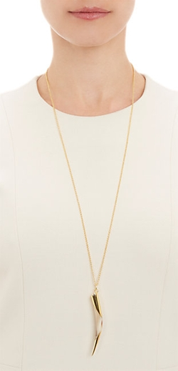 Maiyet  - Horn Tip Pendant Necklace