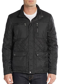 Urban Republic  - Quilted PU-Coated Jacket