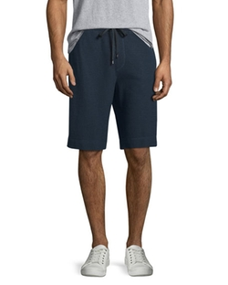 Vince - Thermal-Stitch Drawstring Shorts