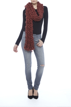 Free People - Chunky Knit Scarf