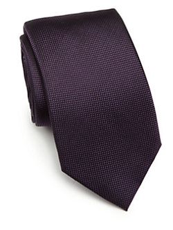 Saks Fifth Avenue Collection  - Solid Silk Tie