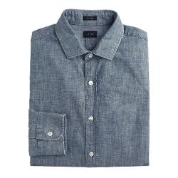 J.Crew - Ludlow Spread-collar Shirt In Chambray