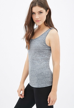 Forever 21 - Heathered Tank Top