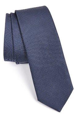 Hugo - Woven Pattern Silk Tie