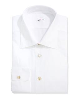 Kiton  - Basic Poplin Dress Shirt