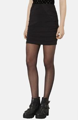 Topshop  - Seamed Bandage Miniskirt