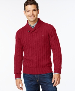 Tommy Hilfiger  - Intercontinental Shawl Sweater