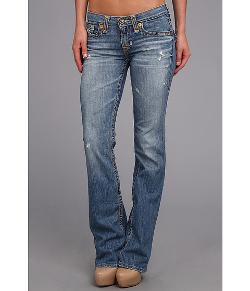 Big Star  - Remy Low Rise Boot Cut Jean in 16 Year Epic