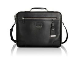 Tumi - Astor Mills Slim Leather Briefcase