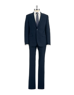Calvin Klein  - Slim-Fit Two-Piece Wool Suit