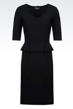 Emporio Armani - Double Sensitive Dress With Peplum