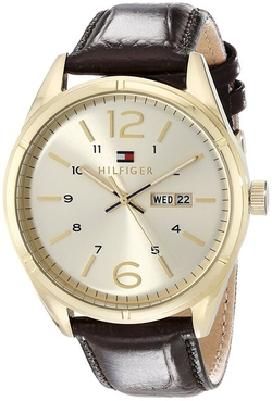 Tommy Hilfiger - Analog Display Quartz Brown Watch