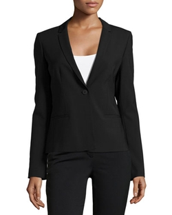 Elie Tahari	  - Alma One-Button Jacket