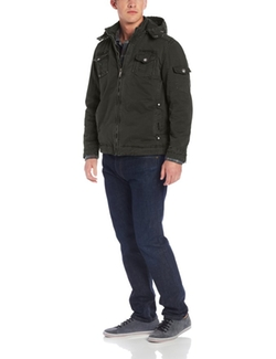American Stitch  - Mens Cotton Military Jacket