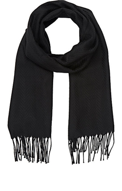 Barneys New York  - Herringbone Scarf