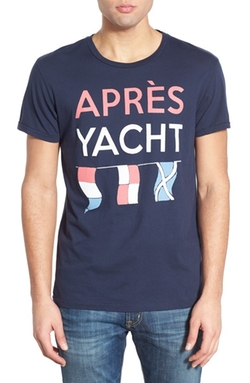Sol Angeles  - Après Yacht Graphic Crewneck T-Shirt