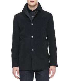 Ermenegildo Zegna  - Reversible Car Coat