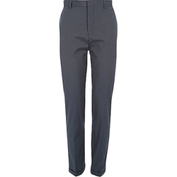 River Island - Stripe Smart Tailored Slim Pants