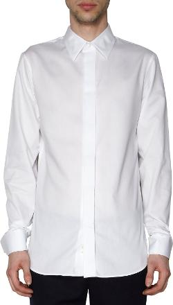 Ann Demeulemeester  - Covered Placket French Cuffed Dress Shirt