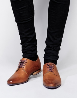 Asos  - Colored Tread Derby Shoes
