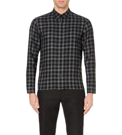 Sandro - Checked Flannel Shirt