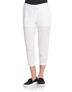 DKNY - PureLinen Capri Pants