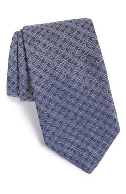 John Varvatos Star USA - Check Tie