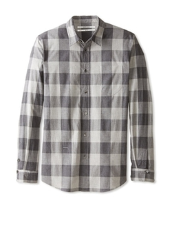 Robert Geller  - Check Pocket Shirt