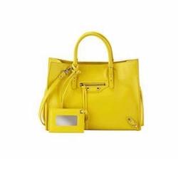 Balenciaga - Papier A6 Zip-Around Tote Bag