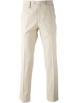 Salvatore Ferragamo - Straight Leg Chino Trousers