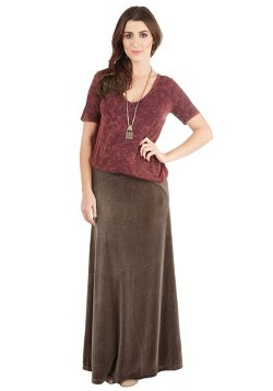 Mod Cloth - Majestic Meander Skirt