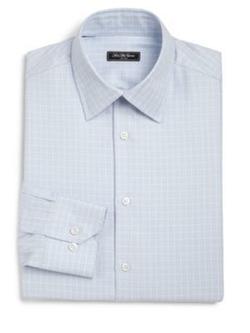 Saks Fifth Avenue - Regular-Fit Windowpane Check Dress Shirt