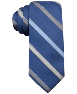 Ryan Seacrest Distinction - Valley Stripe Slim Tie