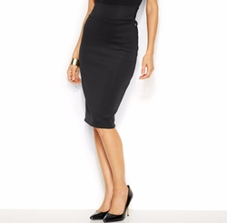 Thalia Sodi - Scuba Pencil Skirt