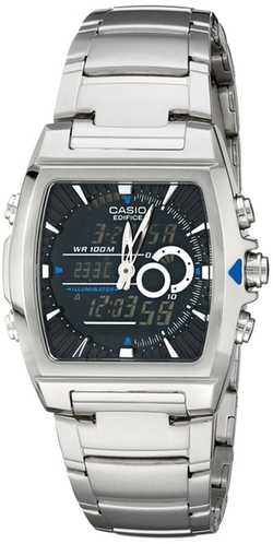 Casio - Ana-Digi Edifice Thermometer Bracelet Watch