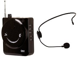 QFX - PA System With Microphone