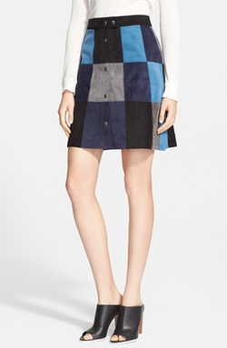 Dolce & Gabbana - Patchwork Denim Miniskirt