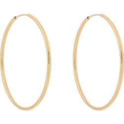 Loren Stewart - Gold Hoops Earrings