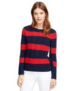 Brooks Brothers - Cashmere Rugby Sweater