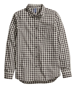 H&M - Checked Cotton Shirt