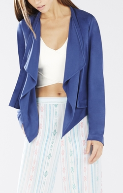 BCBGMAXAZRIA - Donnie Draped-Front Jacket